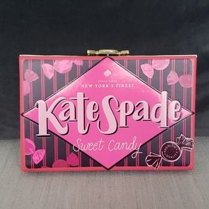 🍬Kate spade candy shop candy wrapper clutch